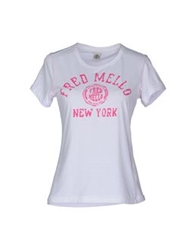 Fred Mello Short Sleeve T Shirts Coral