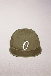 Forever 21 Official Embroidered O Cap Olive