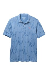 Tommy Bahama Tropicool Palms Polo Big And Tall Buccaneer Blue
