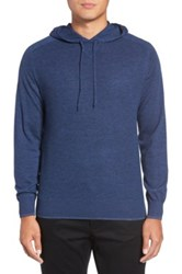 Good Man Brand 'Classic' Merino Wool Hoodie Blue