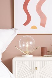 Anthropologie Ariel Table Lamp White