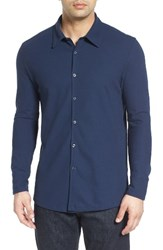 Robert Barakett Men's Kelowna Oxford Sport Shirt