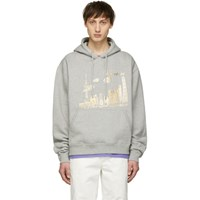 Wonders Ssense Exclusive Grey Shanghai Hoodie