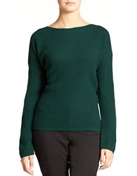 Lord And Taylor Plus Wool Blend Waffle Knit Sweater June Bug