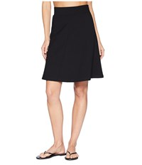 Royal Robbins Geneva Ponte Skirt Jet Black