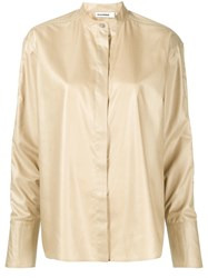 Jil Sander Loose Fit Shirt Neutrals