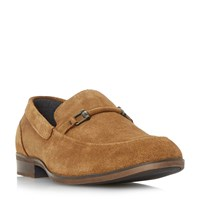 Howick Phisher Snaffle Loafer Shoes Tan