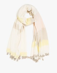 A Peace Treaty Mamos Scarf Yellow