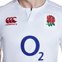 Canterbury Of New Zealand Vapodri England Home Rugby Shirt White