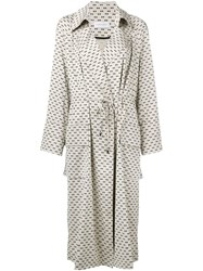 Christian Wijnants Little Dots Coat Nude And Neutrals