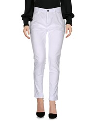 Department 5 Casual Pants White