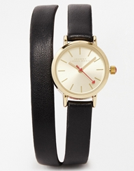 Johnny Loves Rosie Wrap Around Watch Black