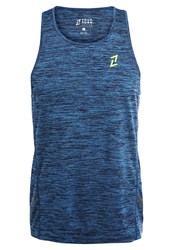Your Turn Active Sports Shirt Blue Sapphire