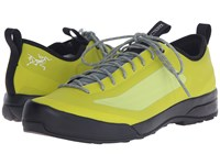 Arc'teryx Acrux Sl Approach Shoe Genepi Arc Moraine Arc Men's Shoes Yellow