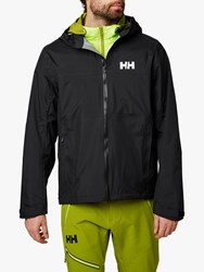 Helly Hansen Vanir Slidr Waterproof Jacket North Sea Blue