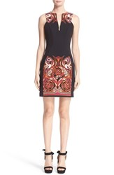 Versace Women's Baroque Print Stretch Sheath Dress