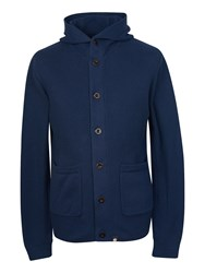 Pretty Green Men's Penarth Knitted Hoody Navy