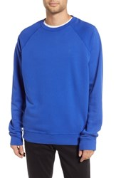 Hope Aim French Terry Raglan Sweatshirt Klein Blue