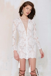 Nasty Gal The Jetset Ruins Lace Dress