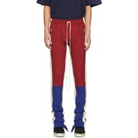 Fear Of God Red And Blue Motorcross Lounge Pants