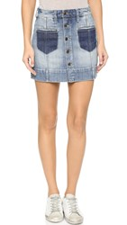 Joe's Jeans Pixie A Line Skirt Rina