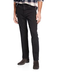 Ag Adriano Goldschmied Dylan Slim Fit Coated Jeans Black