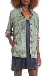 Obey Women's Charlie Military Jacket
