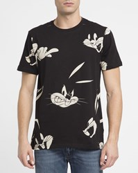 Eleven Paris Black Bugs Bunny T Shirt