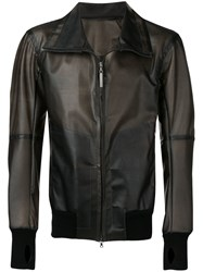 Isaac Sellam Experience Classic Leather Jacket Black