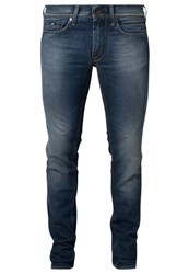 Gas Jeans Gas Anders Slim Fit Jeans Med Wash Blue Denim