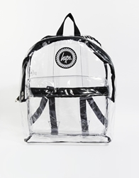 Hype Clear Backpack Black