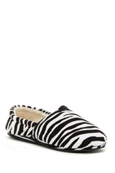 Isaac Mizrahi Stassi Printed Faux Fur Lined Slipper Multi