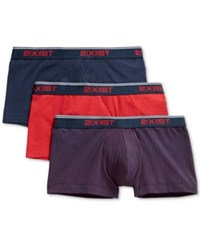 2Xist 2 X Ist Underwear Essential Trunks 3 Pack Polka Dot Navy Red