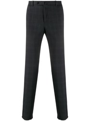Incotex Cropped Check Patterned Trousers 60