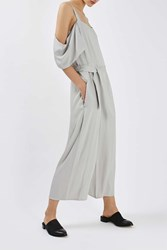 Boutique Off The Shoulder Jumpsuit By Grey