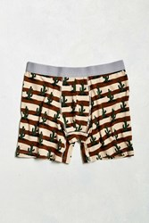 Urban Outfitters Cactus Boxer Brief Brown