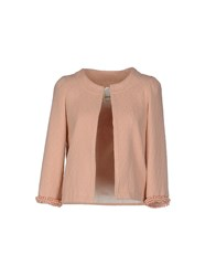 Ottod'ame Suits And Jackets Blazers Women Salmon Pink