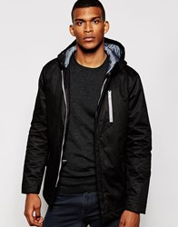 Vito Hooded Terrace Jacket Black