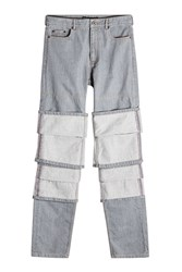 Y Project Layered Jeans Grey