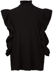 Co 'Butterfly' Blouse Black