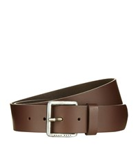 Boss Orange Jeek Leather Belt Brown