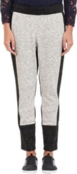 Sea Melange Colorblock Sweatpants Grey