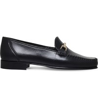Carvela Mariner Leather Loafers Black