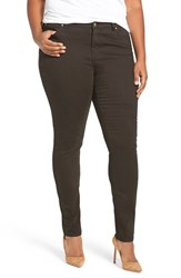 Caslonr Plus Size Women's Caslon Stretch Twill Skinny Pants