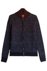 Missoni Zipped Wool Jacket Multicolor