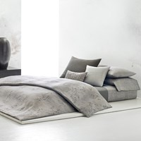 Calvin Klein Acacia Grey Duvet Cover Super King