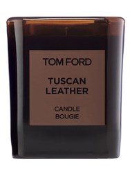 Tom Ford 595Gr Tuscan Leather Candle Transparent