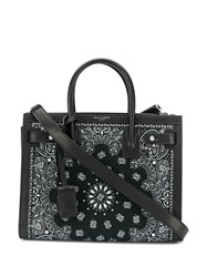 Saint Laurent Bandana Sac De Jour Baby Black