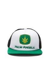 Palm Angels Agrimotor Cap White