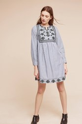 Anthropologie Andon Swing Dress Navy